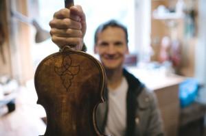 Tomas Pospichal Maggini Violin Martin Rink Photography